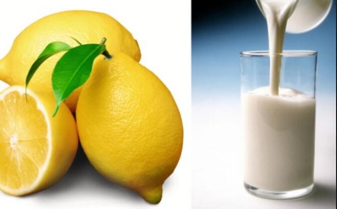 Chanh có tính sát khuẩn cao, kết hợp với sữa đậu nành giúp làn da sạch mụn và nám