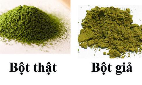 bột trà xanh có tan trong nước không1