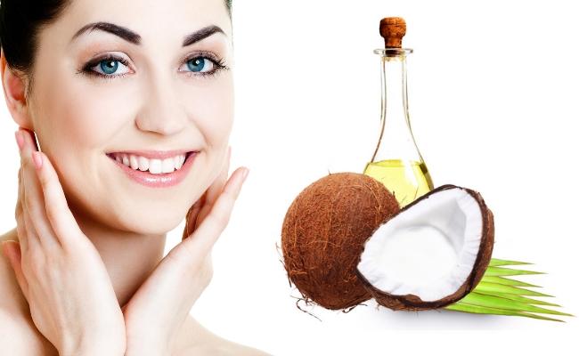 cách làm trắng da mặt bằng dầu dừa