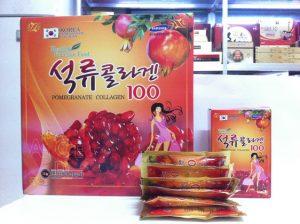 Collagen lựu Hàn Quốc