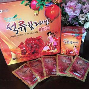 Sản phẩm nước lựu collagen Hàn Quốc Kangwha