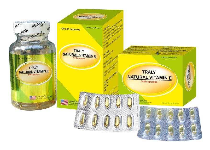 Traly natural Vitamin E giá bao nhiêu