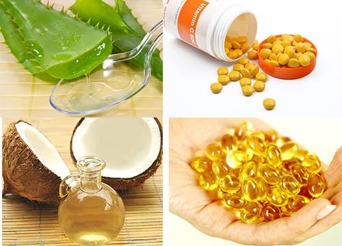 mặt nạ bột vitamin c và vitamin e
