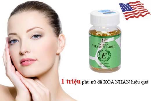 natural vitamin e 400 iu của Mỹ