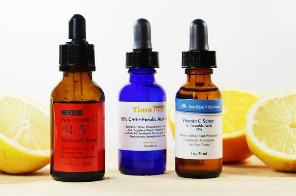bôi Vitamin C lên da mặt có tác dụng gì