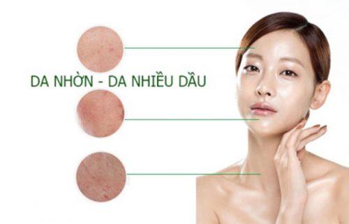 làn da nhờn có nên dùng collagen không