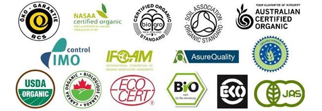 chứng nhận mỹ phẩm hữu cơ