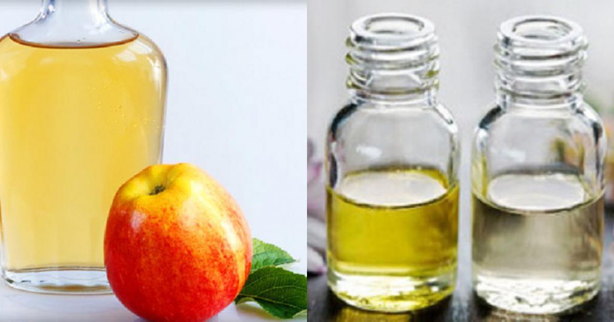 cách làm giấm táo trị mụn, trị mụn ẩn