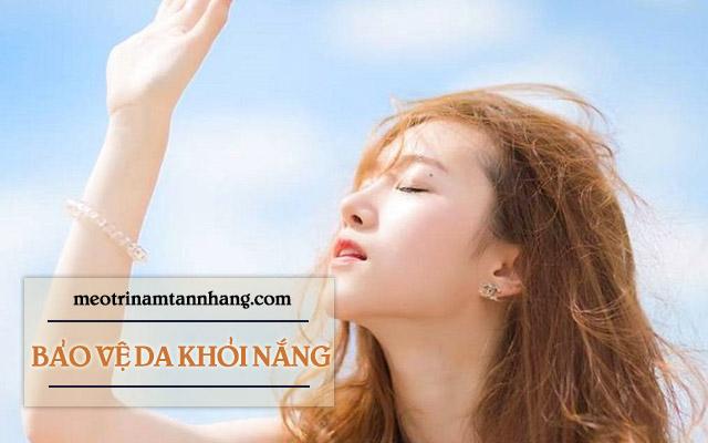 kem trị nám Yanhee bảo vệ da khỏi sự tác động của nắng