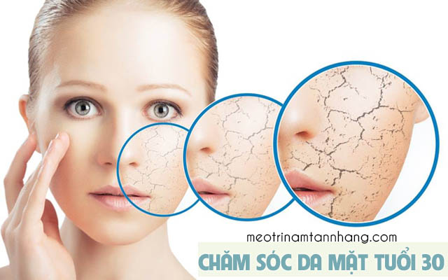 Mẹo chăm sóc da mặt ở tuổi 30 để có làn da đẹp
