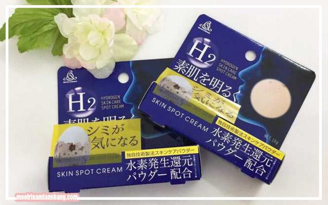 Công dụng của kem trị nám H2 Hydrogen Skin Spot Cream