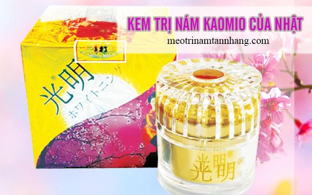 Công dụng của kem trị námKaomio của Nhật Bản
