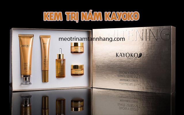 Thành phần và công dụng của kem trị nám Kayoko