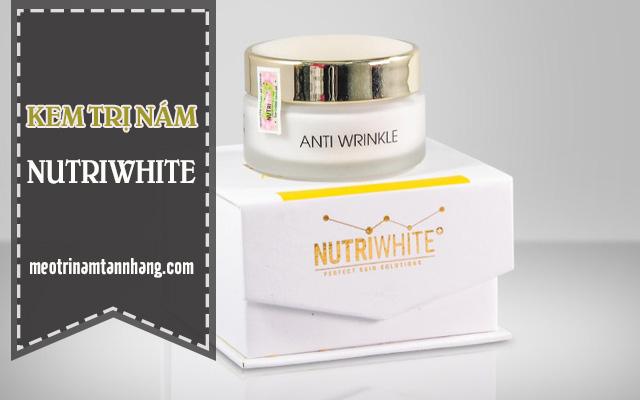 Công dụng và cách dùng kem trị nám Nutriwhite