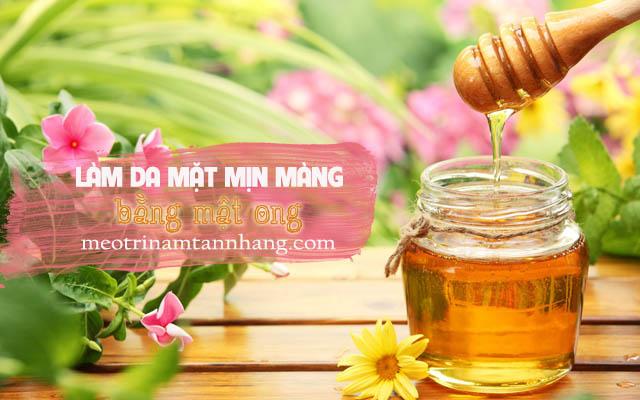 Cách sử dụng mật ong để làm da mặt mịn màng