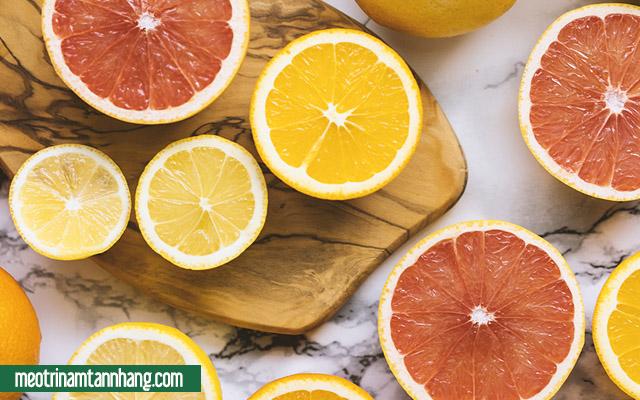 Chăm sócda trong thời gian mang bầu bằng cách bổ sung vitamin C