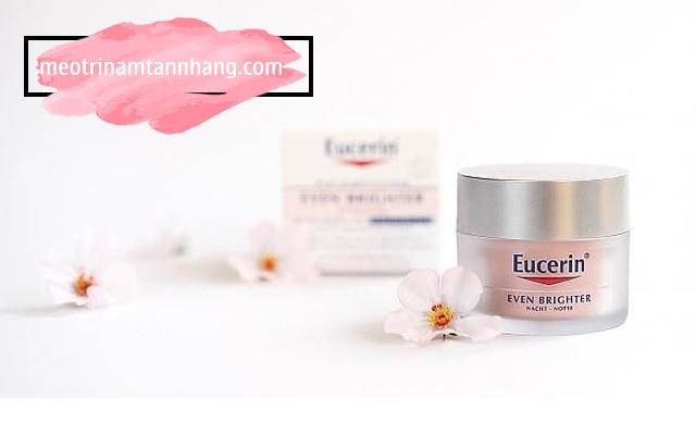 Thành phần của kem trị nám tàn nhang Eucerin
